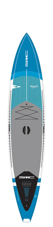 SIC SUP - BULLET (DF) 12'6'' x 30'' - Front - Back - Side
