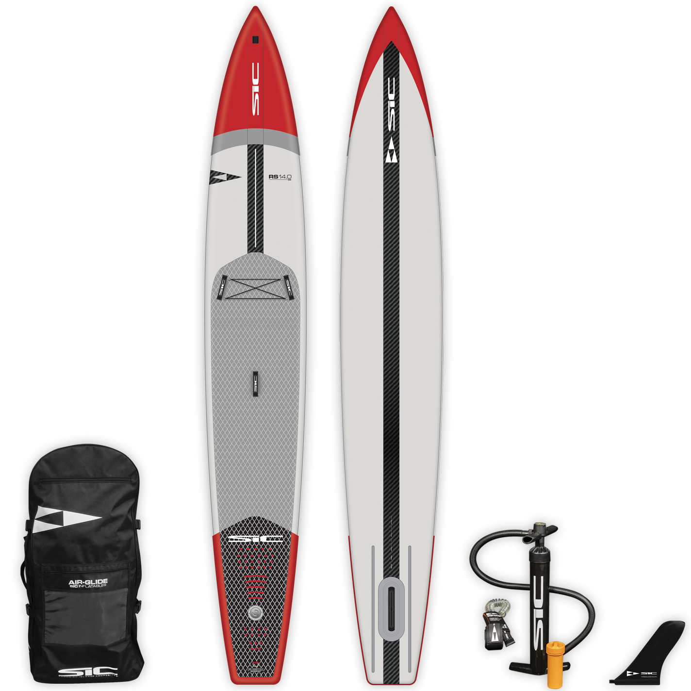 "INFLATABLE SIC SUP - RS AIR-GLIDE (CFL) 14'0"" x 26"" - Deck - 105224"