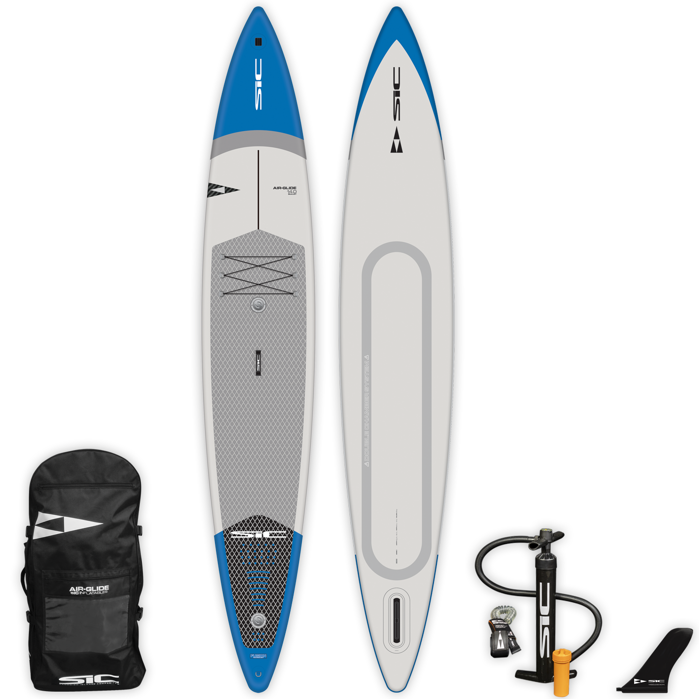 "INFLATABLE SIC SUP - BULLET AIR-GLIDE (FST) 14'0"" x 28.5"" - Deck - 105226"