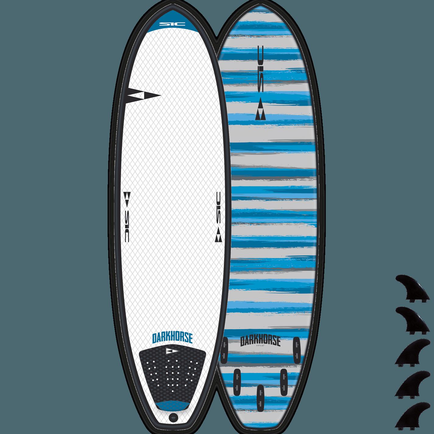 """SURF SIC - DARKHORSE (VORTEX) 5'8"""" - Top - 106416"""